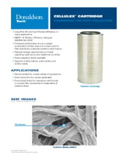 12.74 OD Donaldson Torit P52-5145 OEM Replacement Cartridge Filter Nanofiber FR Filter Media 22 Length