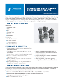 Screw-Fit Brochure