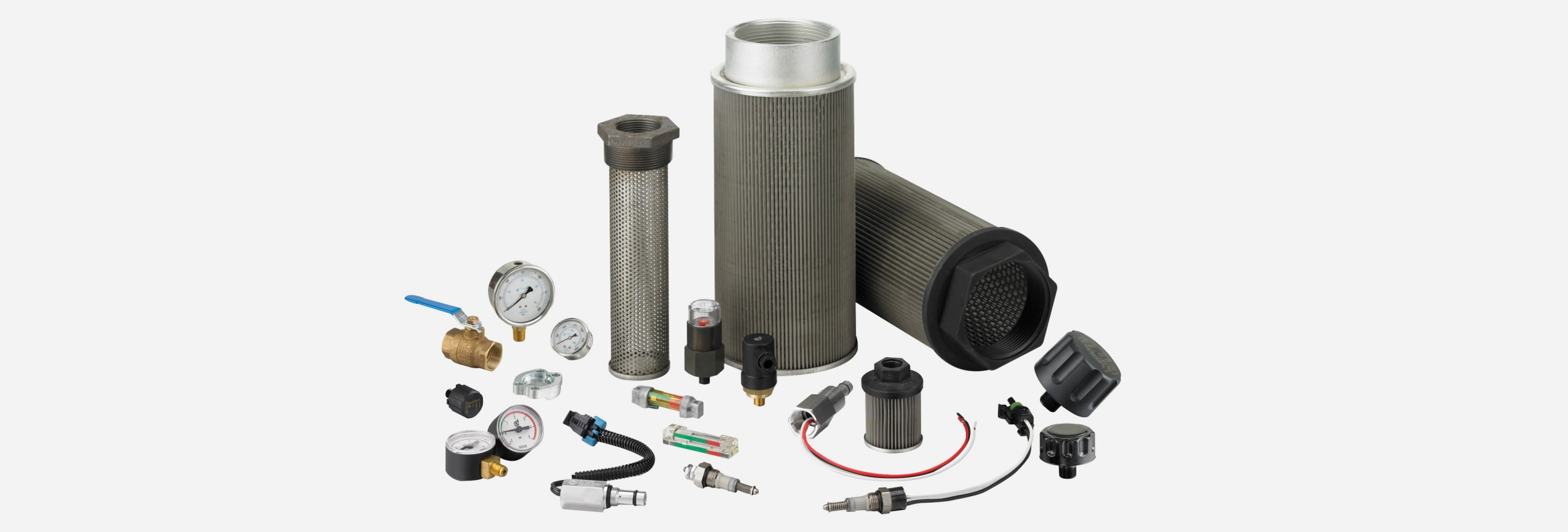 FIK Group with In-Tank Assemblies and Replacement Filters